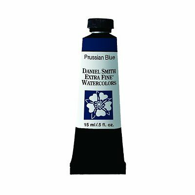 Daniel Smith Extra Fine Watercolor 15ml Paint Tube Prussian Blue (NEW)