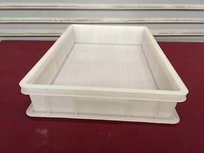Pizza Dough Box Full Size Plastic #7101 Commercial Restaurant Holding Tray Pan