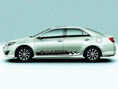 TOYOTA CAMRY 2X side stripes vinyl body decal sticker graphics premium  quality