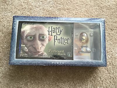 Harry Potter Dobby Postcard Book And Figurine