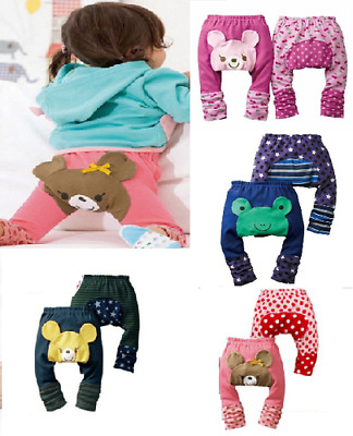 **UK SELLER** Toddler Kids Boys Girls Cloth Harem Pants Trousers Leggings Jersey