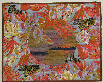 Art Quilt Wall Hanging Handmade Quilted Wall Hanging HMJQuiltsPlus