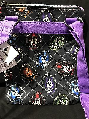 New Disney Parks 2017 Halloween Mickey Minnie Crossbody Purse