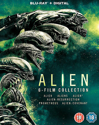 Alien: 6-Film Collection [2017] (Blu-ray)