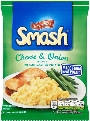 Batchelors Smash Cheese & Onion Instant Mash Potato 107g