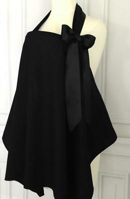 Babies In Arms Boutique Style Breastfeeding Nursing Cover in Black