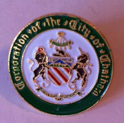 Corporation Of The City Of Chatham Pin