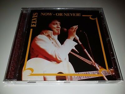 Elvis Presley - NOW OR NEVER - RARE MINT cd