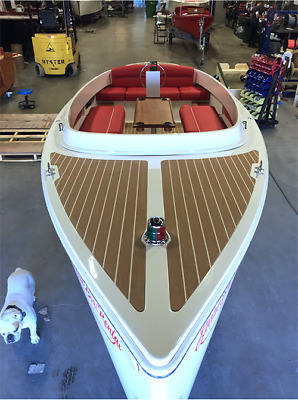 2017 Fantail 217 White & Red Electric Boat / Torqeedo / Duffy / Electracraft