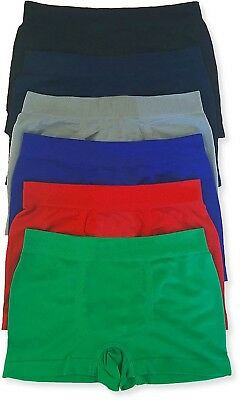 FashionCatch Boy/'s Pack of 6 Seamless Boxer Briefs Stars and Stripes