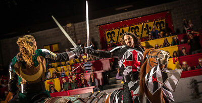 Medieval Times Dinner and Tournament Show in Toronto - 2 Admission Tickets