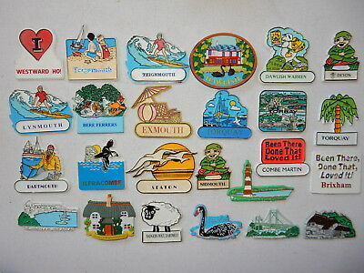 One Selected Rubber Souvenir Magnet from Devon