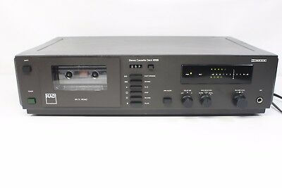 NAD 6125, working stereo cassette deck. (ref A147)