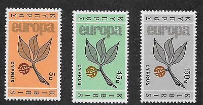 Cyprus Sg 267 - 269 Mint And Used Sets