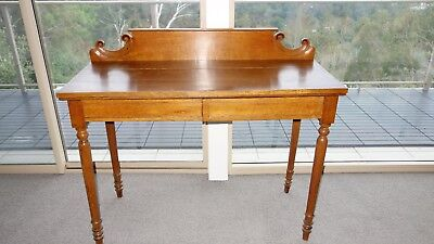 Victorian antique serving table