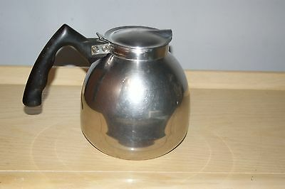 Vintage Nicro by Cory for Vacuum Brewer Carafe Model 468A Stainless Steel Pot