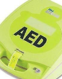 Zoll AED plus automated external defibrillator W/Zoll AED Wall Mounted Cabinet