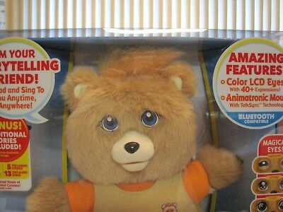 2017 Teddy Ruxpin Storytelling, Friendship And Magical Fun--New--Factory Sealed
