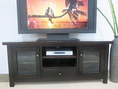 Albany Lowline Tv Entertainment Unit Brand New Hardwood Timber Solid