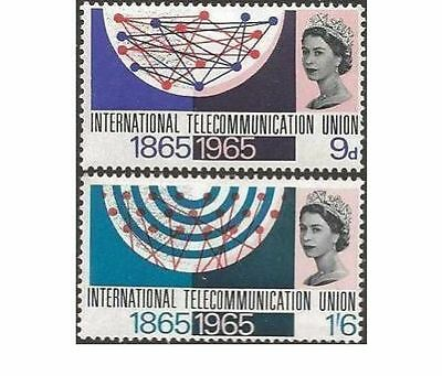 SG683p/4p 1965 ITU PHOSPHOR  Unmounted Mint GB
