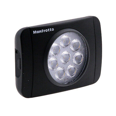 Manfrotto Lumimuse 8 On-Camera LED Light - Black (Open Box)