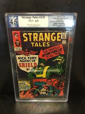 Strange Tales 135 Pgx 4.5 First Appearance Of Nick Fury Not Cgc