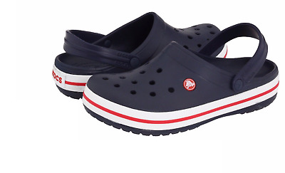 New Unisex Crocs Sandal Crocband Navy Relaxed Fit 11016-410