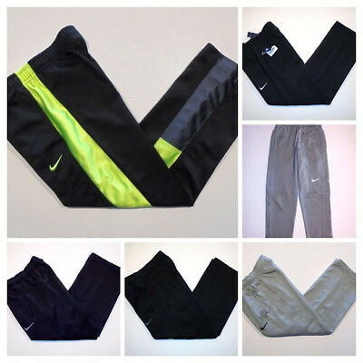 Nike Boys FLEECE Pants  Sizes XS - SMALL Youth - Click SIZE for full List