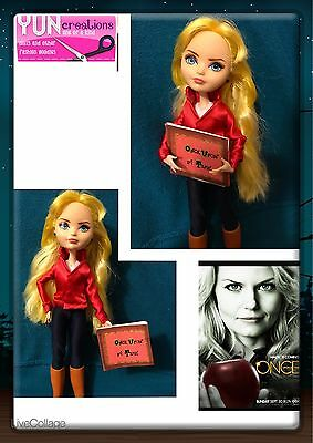 Emma Swan OUAT Custom Ever After doll OOAK Handmade Collector - Once Upon A Time
