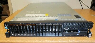 IBM X3650 M3 Server-2x Xeon X5675 3.06GHz 144GB-4x900GB 10K SAS-M5015-16 Bay