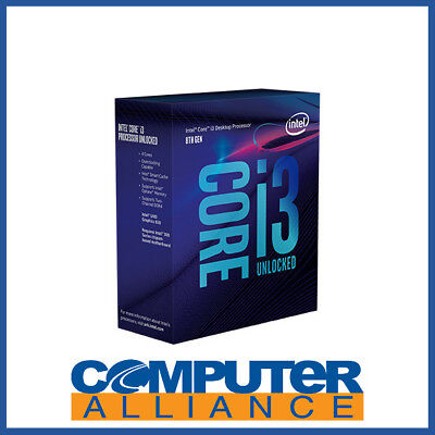 Intel S1151 Core i3 8350K 4.0GHz 4 Core CPU PN BX80684I38350K (No Heatsink Inclu