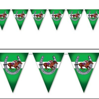 Melbourne Cup Party Supplies Horse Racing Flag Banner Party Decorations