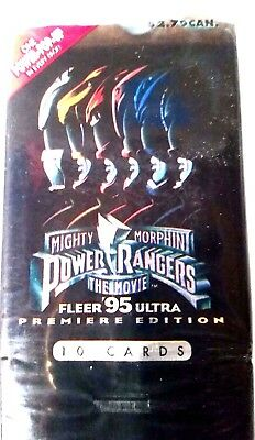 Vintage Power Rangers trading cards New in Package