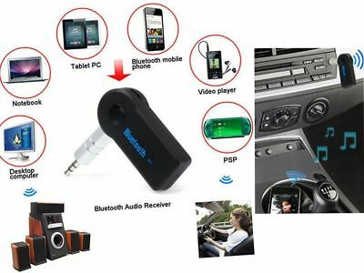 3.5mm Wireless Bluetooth 3.0 Car Audio Music Receiver Handsfree Mic AUX Adapter