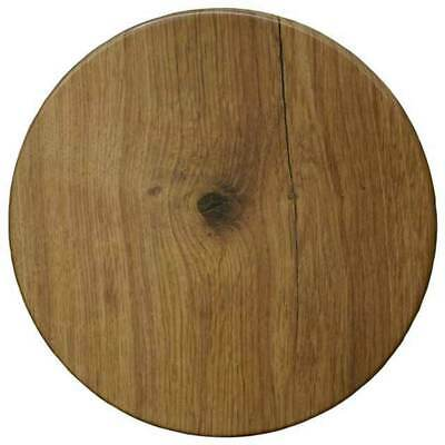 New Table Top Restaurant Cafe Antiscratch Isotop Outdoor 70cm Round Big Wood