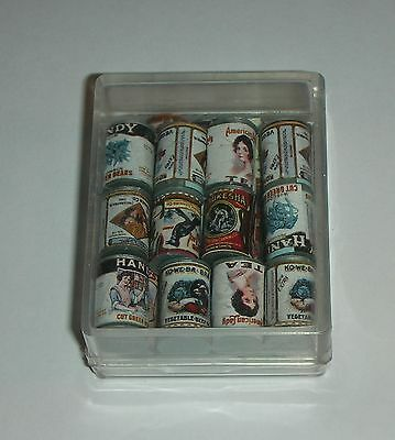 LADEGUT DIORAMA.Canned Groceries Old Fashioned (24 pcs.Box) H2276 Dollhouse Min.
