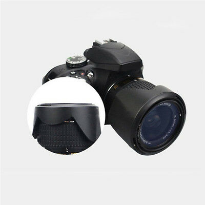 Lens Hood Protection Lenses For Nikon D3300 D5500 18-55mm Digital Camera