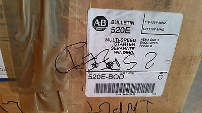 """new"" Allen Bradley 520E-Bod Multi-Speed Starter"