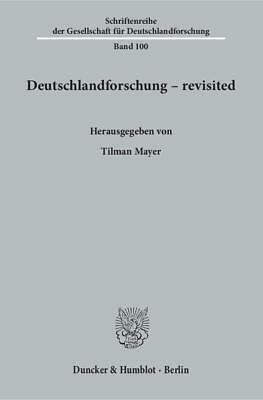Deutschlandforschung - revisited, Tilman Mayer