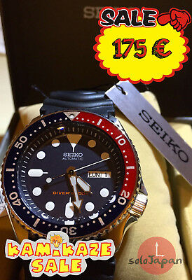Seiko SKX009K1 Rubber band Diver. New/Nuevo. Shipping from Spain!