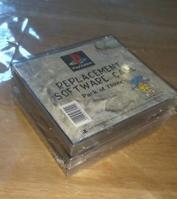 Playstation - PS1 Genuine Official Replacement Game Cases- New and Sealed