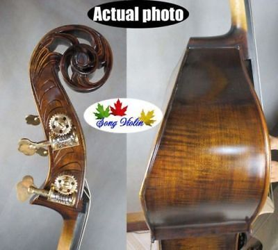 Solid wood professional Song master flat back Bass-Upright 3/4,doulbe bass