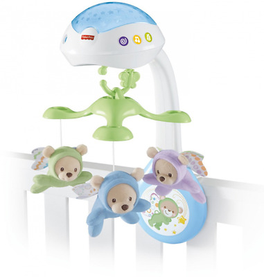 Fisher-Price Butterfly Baby Dreams Projection Mobile Playset New Born Kids Room