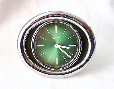 "Space Age -""europa"" Orologio Da Tavolo-Table Clock- 2 Jewels -Germany '70"