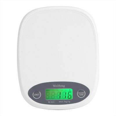 7000g/1g Electric LCD Small Kitchen Scale Accuracy 0.1g Food Weighing Balance