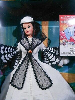"""Barbie as Scarlett O'Hara """"White Dress"""" Hollywood Legends Collection 1994"""