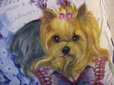 Original Painting Of A Yorkie Sold!