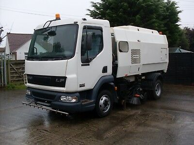 2005 Scarab Merlin Unidrive Road Sweeper On 7.5 Ton Daf