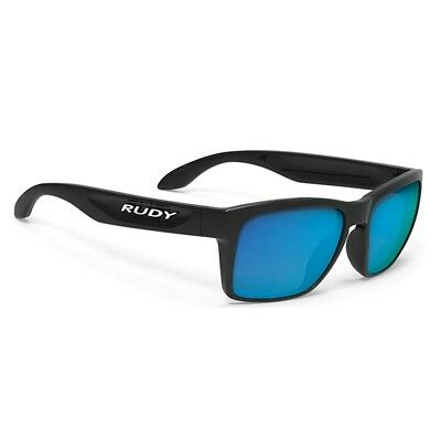 Occhiali RUDY PROJECT SPINHAWK SLIM Black Gloss Multilaser Blue SP383942