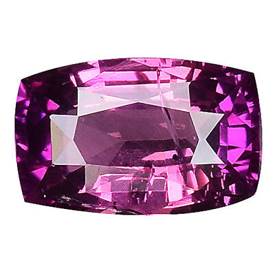 """1.030 Cts AMAZING LUSTER PINK NATURAL SAPPHIRE CUSHION """"VIDEO IN DESCRIPTION"""""""